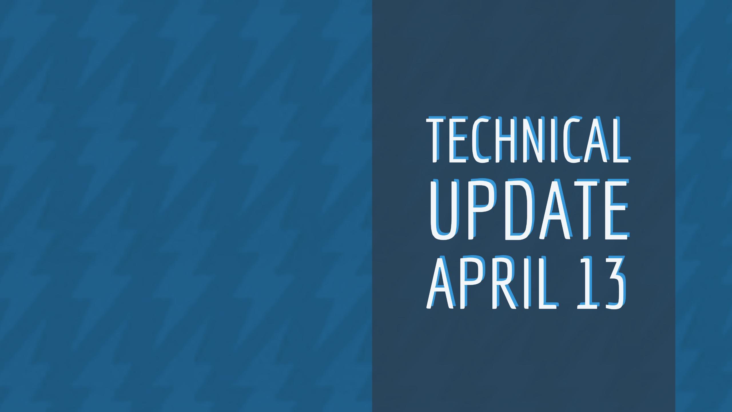 Tech Update 0414