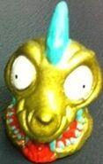 Slime Skull Figure