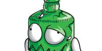 Bashed Bottle