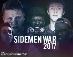 SidemenWar2017DesignByDUW