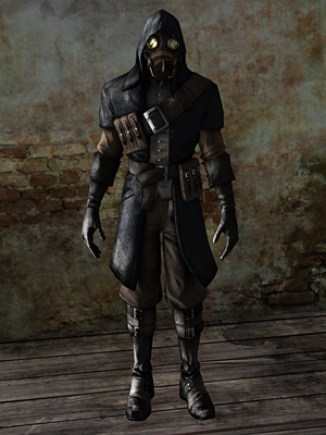 Dishonored whaler assassin by undeadmiko-d78a1u2