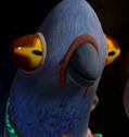 Pigeon Pete portrait