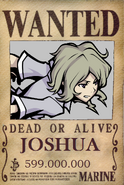 Joshua wanted