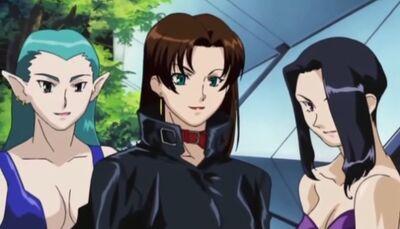 The Pervy Women Trio