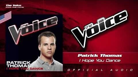 Patrick Thomas- I Hope You Dance