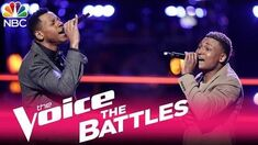 The Voice 2017 Battle - Chris Blue vs