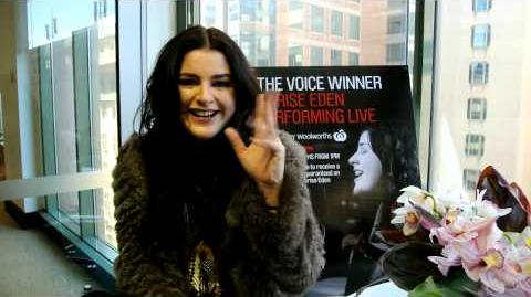 The Voice Australia A special message from Karise