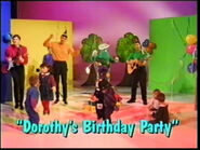 Dorothy'sBirthdayParty-SongTitle