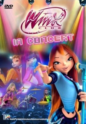 Winx Club in Concert DVD