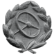 Frontline Driver's Badge (silver)