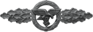 Transport and Glider clasp, Silver (Luftwaffe)