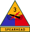 3rd Armored Division (detached tab)