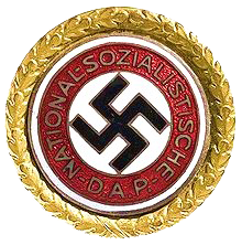 File:NSDAP Party Badge (Gold).png