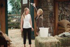Nikki vs Sharon barn