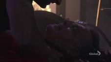 Ian being strangled