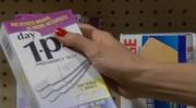 Red fingernails