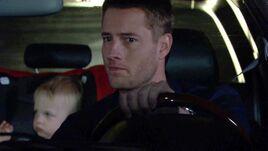 Adam drives off