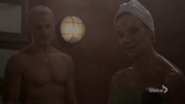 Gloria & Graham sauna