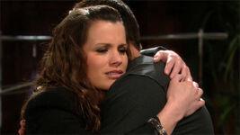 Chelsea hug