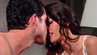Luca Marisa kiss