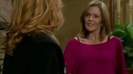 Diane smirks at Phyllis