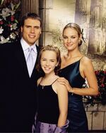 Cassie and her parents