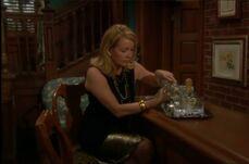 Nikki drinking