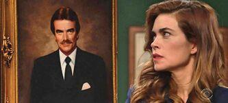 Victoria rages at Victor Portrait