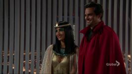 Joe & Lily smile Halloween
