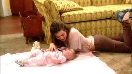 Vikki plays with Lucy