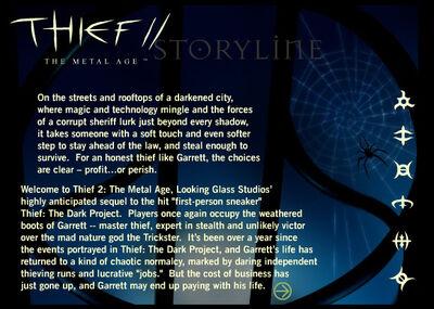 OriginalTMASite Storyline