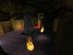 Fire elementals patrol