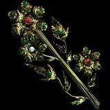 Flowers Eternal - Daisy Brooch