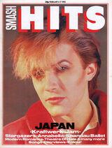 David Sylvian interview Smash Hits, February 04, 1982 - p.01