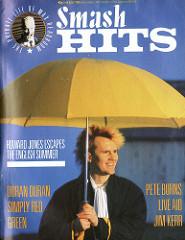 Smash Hits, July 03, 1985 - p.01 Howard Jones cover