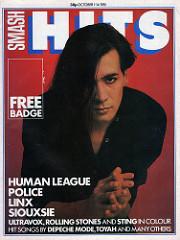 Smash Hits, October 1, 1981 - p.01 P Oakey cover