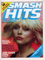 Smash Hits, May 31, 1979 01 Debbie Harry cover