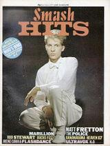 Smash Hits, June 23, 1983 - p.01 Matt Fretton