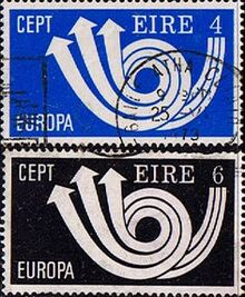 1973-01-01 EIRE EEC stamp