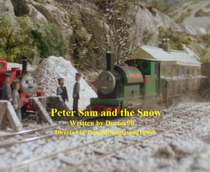 Peter Sam and the Snow title