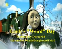 Emily's Weird Day title