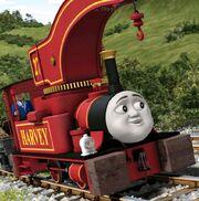 Harvey the crane engine