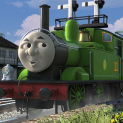 Oliver in The Great Race