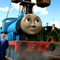 Edward in Day of the Diesels