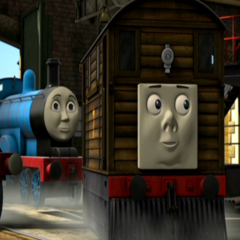 Toby in King of the Railway