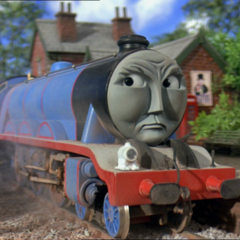 Gordon in Thomas and the Magic Railroad