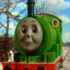 Percy in the eighth season