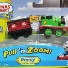 Pull and Zoom Percy packaging