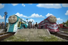 File:Connor and Caitlin start the race.png