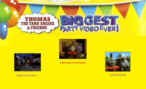 Thomas The Tank Engine and Friends - Biggest Party Video Ever! (1998) - Scene Selection 6